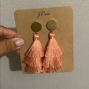 Brand New J Crew Tassel Earrings